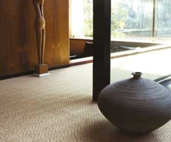 herringbone carpet from crucial trading, if you have to have carpet, pattern can make it interesting