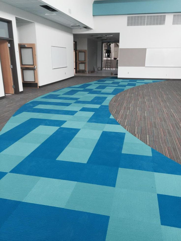 Cool School, Carpet Tiles, Floor Design, Flooring Ideas, Office Designs,  Tampa Bay, Church Ideas, Warehouse, Rugs