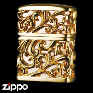 Engraved Zippo - Devil's Jacket  (Gold) featured on Jzool.com