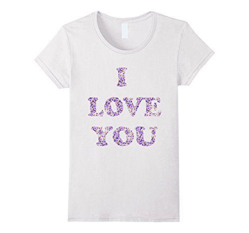 I LOVE YOU  - PURPLE - Female Medium - White VALENTINE'S COLLECTION http://www.amazon.com/dp/B01AN3M7P4/ref=cm_sw_r_pi_dp_tkiMwb0T1MGT1