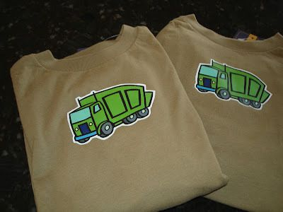 The Great Garbage Truck Party | CatchMyParty.com