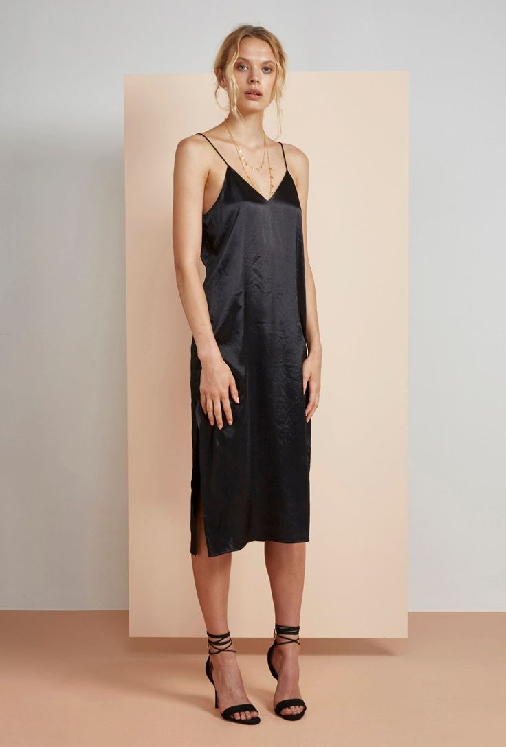 Finders Keepers - Claude Dress Black