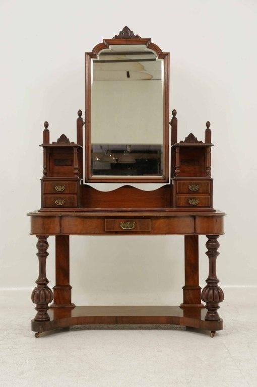 Victorian Mahogany Dressing Table / Vanity