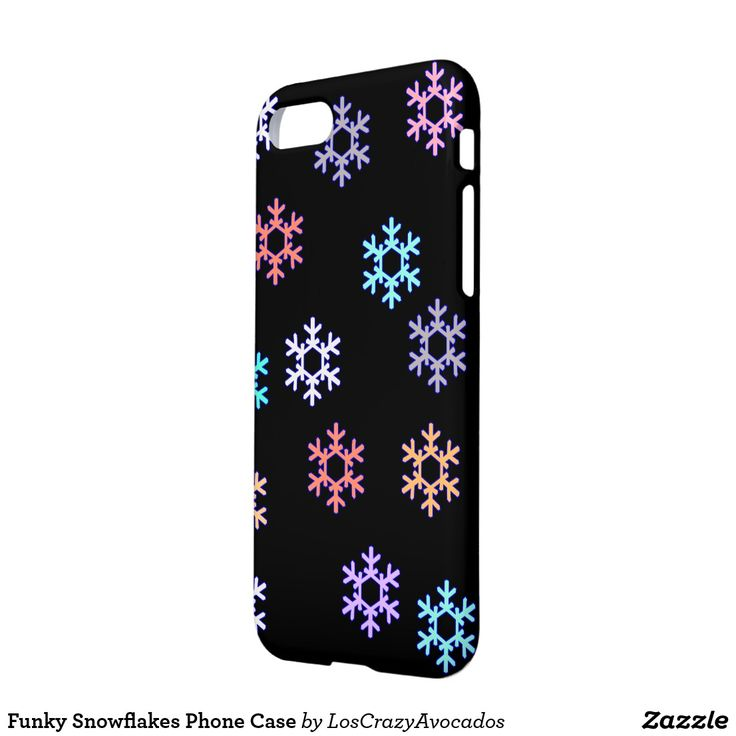 Funky Snowflakes Phone Case
