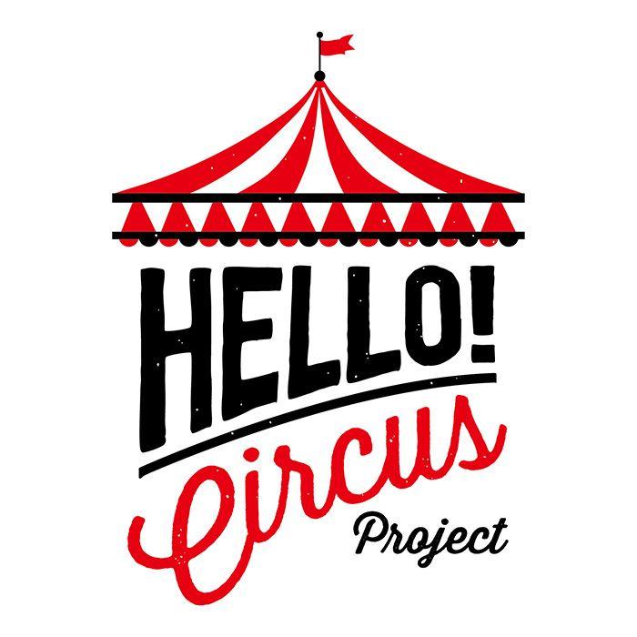 Super me inc. | works | LOGO | ハロー!サーカスプロジェクト ロゴ