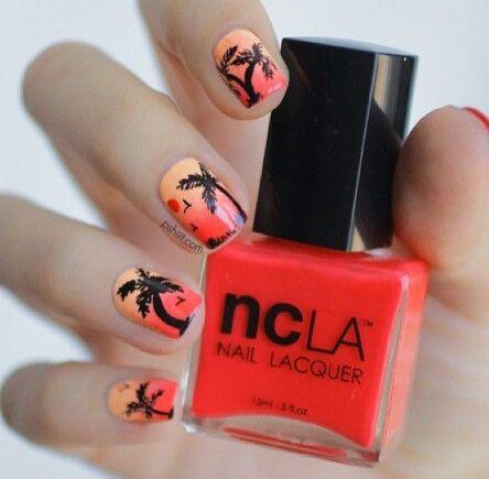 Nagellak kunst / zomer / nail art / summer