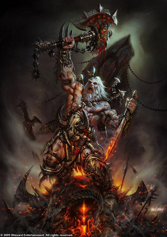 Diablo barbarian glorry