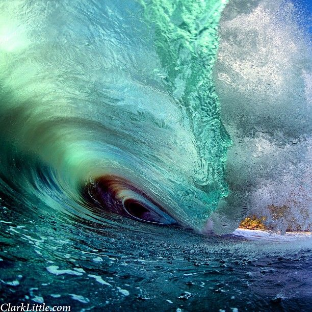 Big wave in Hawaii. Photo by clarklittle