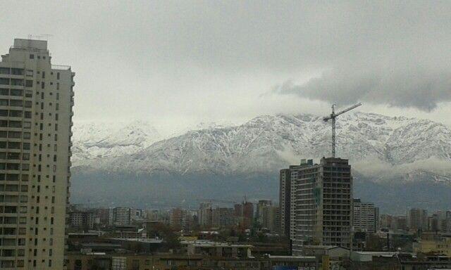 Julio 25-2015 / Cordillera de los Andes desde Santiago de Chile