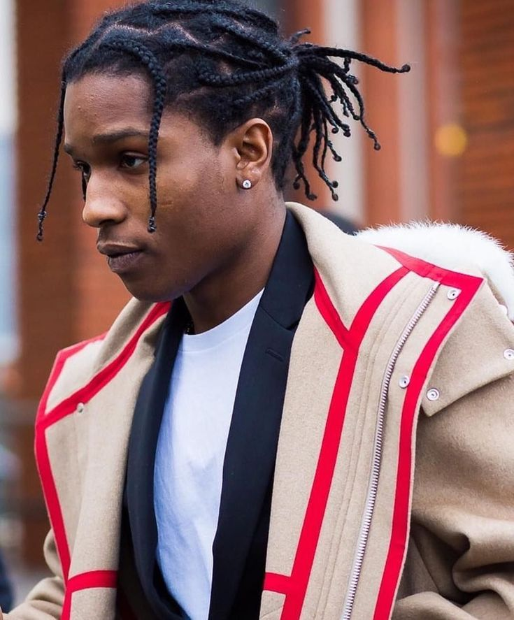 Asap Rocky Hair Unbraided | Find your Perfect Hair Style | 735 x 887 jpeg 92kB