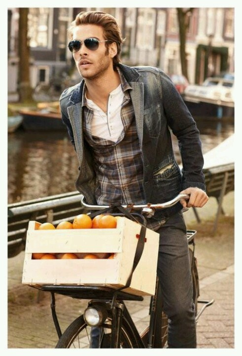 Oranges and Hugo Boss Orange campaign featuring Jon Kortajarena leading a  top model cast photographed by Matt Jones for the Fall Winter adverts.