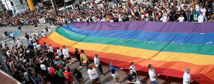 2014 Gay Pride Parade Steps off: Saturday, October 11, 1:45 p.m. Assembly begins at 1:15 p.m. at the Charles Allen Gate