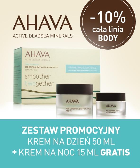 Widziałyście już nasz zestaw promocyjny AHAVA krem na dzień 50 ml + krem na noc 15 ml GRATIS? Oto on! :)