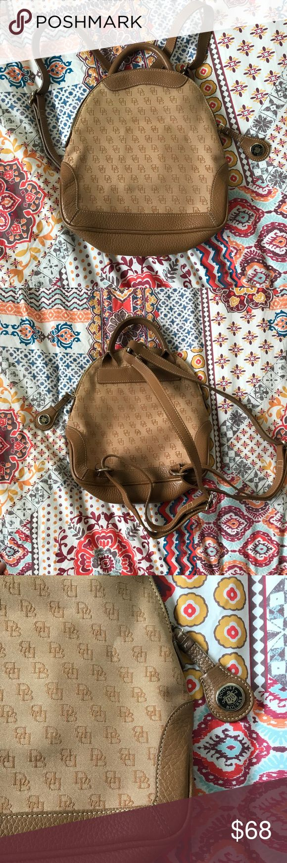 F I N A L • S A L E Dooney & Bourke Backpack Authentic Vintage Dooney & Bourke Tan/Camel Backpack. In wonderful condition! Dooney & Bourke Bags Backpacks