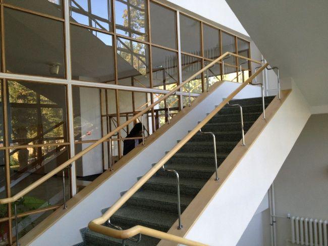 Библиотека Аалто в Выборге. Отделка и элементы лестницы восстановлены по оригинальным чертежам. Фотография © «ДНК аг»