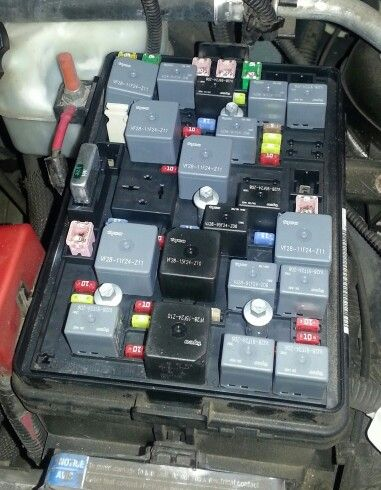 Fuse Box Of Chevy 2lt Hhr With 2 4l 16v 4 Cylinder