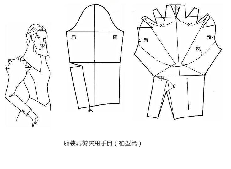 服装裁剪实用手册(袖型篇)