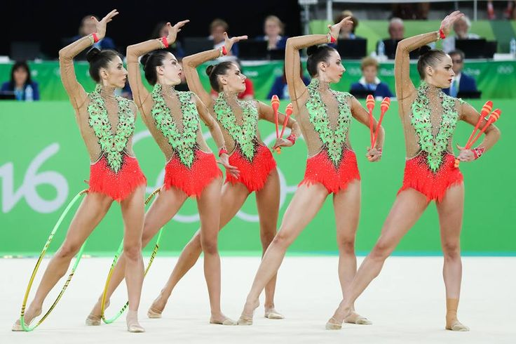 Group Spain got 17.966 points in Group All-around at Olympic Games (Rio) 2016