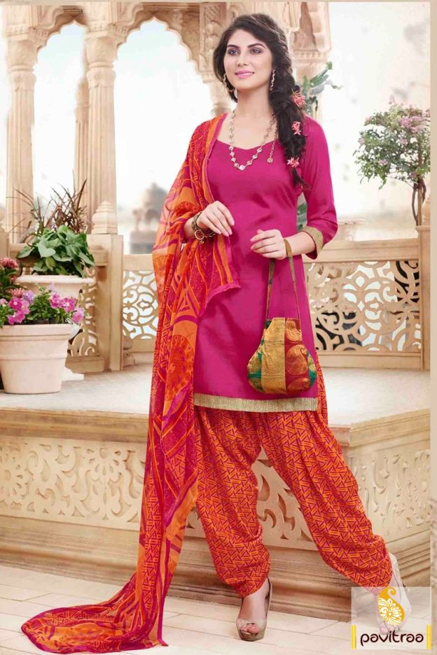 Get the casual appearance in this stunning pink orange cotton punjabi patiala salwar suit online shopping with discount price. Buy online this printed casual patiala suit at low price.#salwarkameez, #cottonsalwarkameez, #casualsalwarlameez, #printedsalwarkameez, #patialasalwarkameez, #churidarsalwarkameez, #discountoffer, #pavitraafashion, #utsavfashion http://www.pavitraa.in/store/patiala-salwar-suit/ callus:+91-7698234040