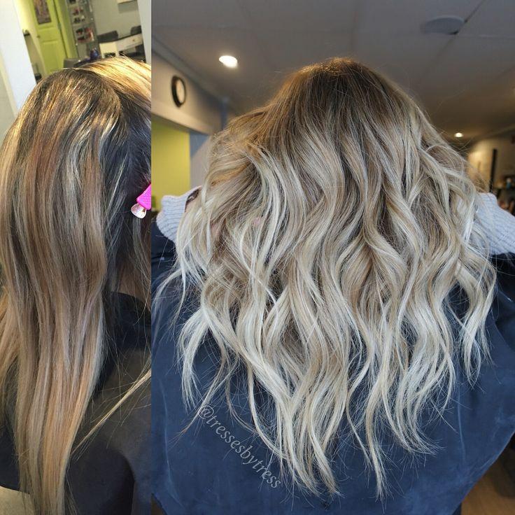 Blonde balayage makeover   Ombre/Balayage   Pinterest ...