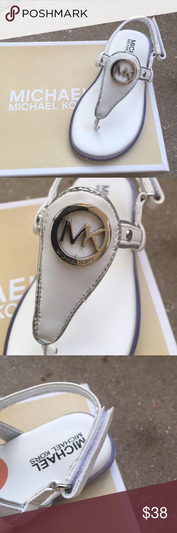 Michael kors toddler girls sandals Brand new pair of sandals with box. Velcro closure . MICHAEL Michael Kors Shoes Sandals & Flip Flops
