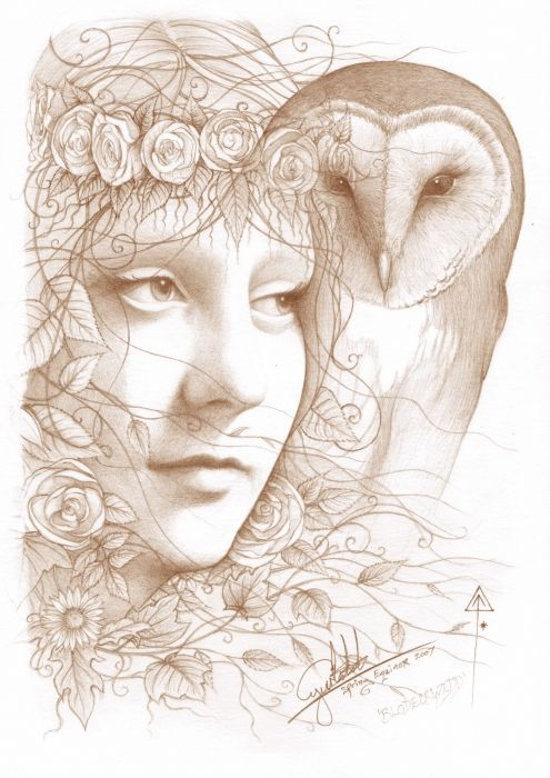 Blodeuwedd (welsh goddess), Yuri Leitch