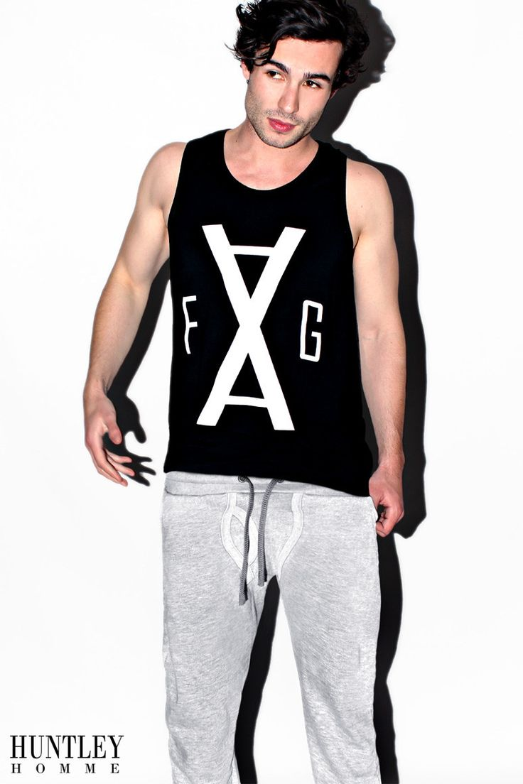 Grey Y-Front Sweat Pants