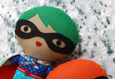 Create Your Own Superhero Soft Toy