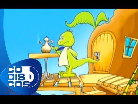 Canticuentos - La Iguana Y El Perezoso - YouTube