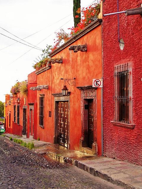 San Miguel Allende Mexico by RebecaAR, via Flickr