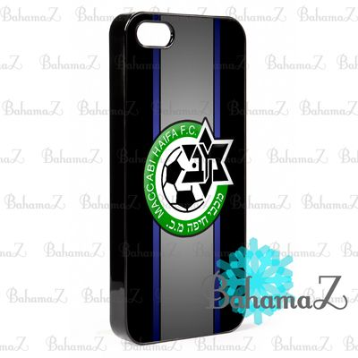New Rare Maccabi Haifa fc logo iPhone 5 5S Case | Bahamaz - Accessories on ArtFire