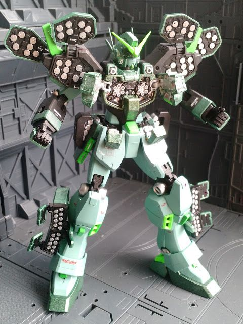 Gundam Daddy: GreenStorm HeavyArms Custom
