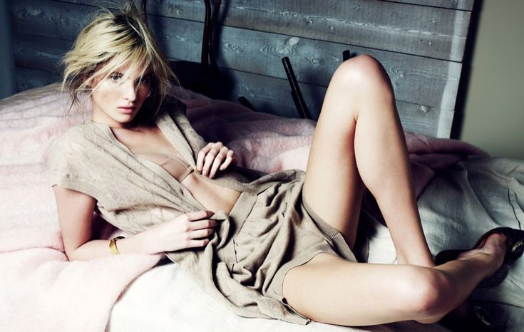 Estee Rammant Models Nude Style for Gianluca Fontana in Elle France