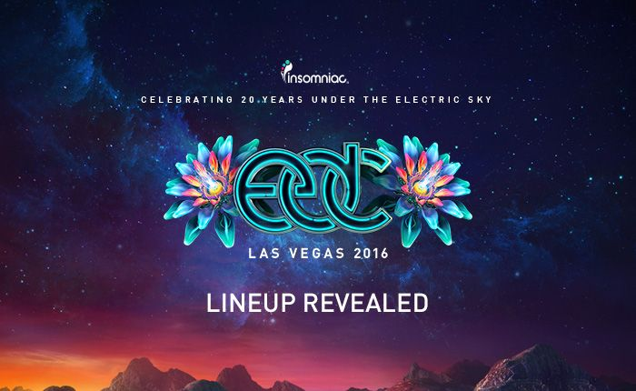 The EDC Las Vegas 2016 Lineup Is Here!