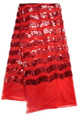 Beautiful red sequins Lace. To place your order whatsApp me or call me : +491711026884 Lycamobile: +4915211712706
