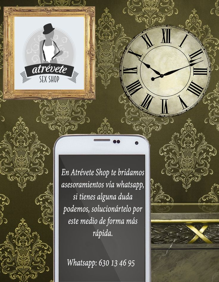 Si necesitas asesoría, no dudes en escribir al whatsapp. 630134695 #Sexshop #Sevilla