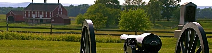Gettysburg, PA - Gettysburg National Military Park was the site of the Civil War's bloodiest battle with 51,000 casualties over three days in the summer of 1863.