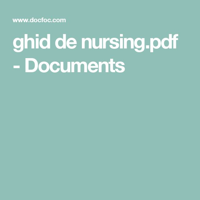 ghid de nursing.pdf - Documents