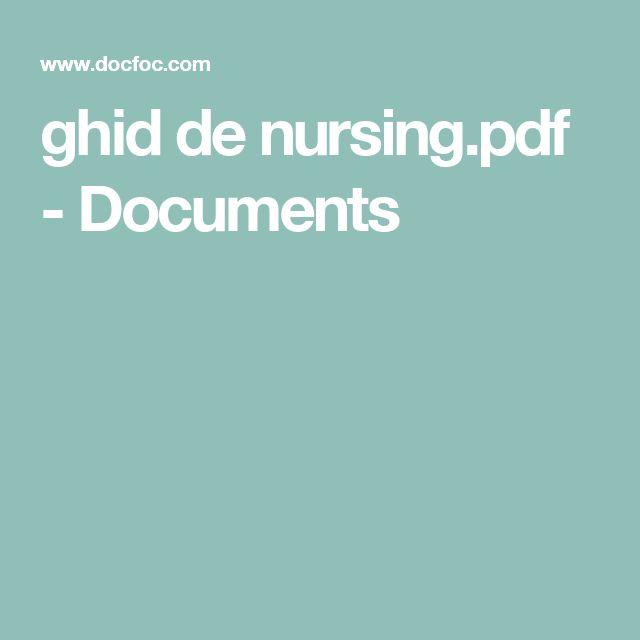 ghid de nursing.pdf - Documents