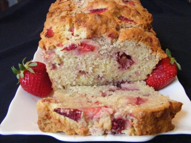 Time for Strawberry Cream Cheese Bread  5-23-13.