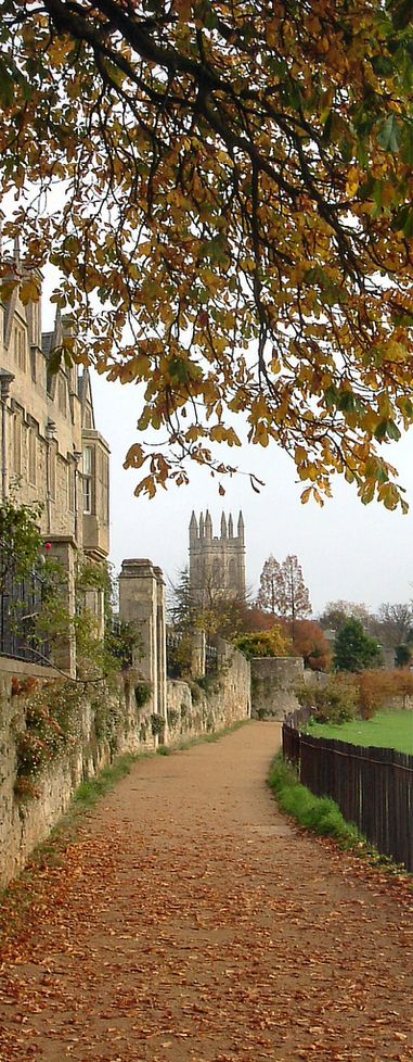 Oxford, England. Wish I'd taken the opportunity to go to one of the 'dreaming spires. universities.