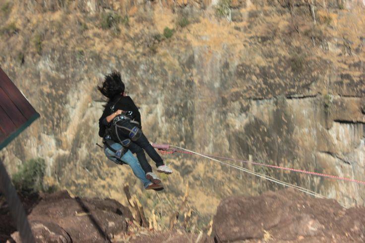 The Gorge Swing at The Batoka Gorge, Victoria Falls, Zimbabwe