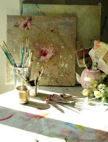 Living Beautifully: My Adventures in Painting Roses and Other Fluff!by Connie