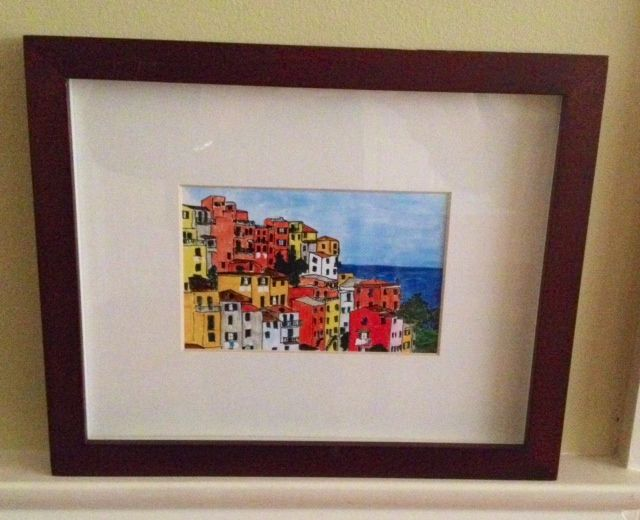 It's time to dig out all the postcards you ever purchased as vacation mementos, or the event and park tickets you kept for no real reason, pick out the best, frame them, hang them, enjoy the view a...