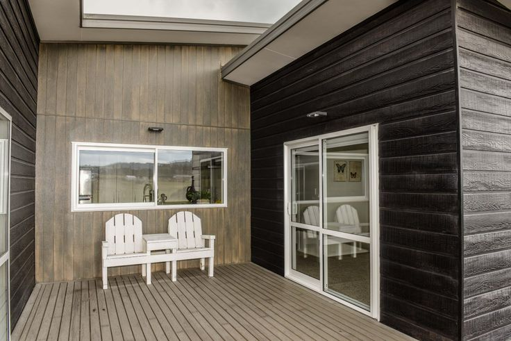 ECO-PLATINUM Scyon Axon™ cladding Axon Wood Grained Vertical 133mm