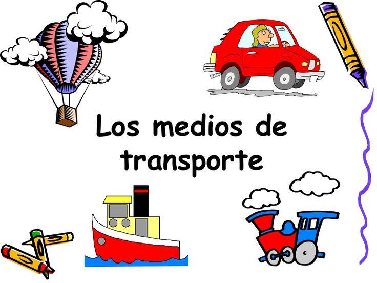 C. Medio  LOS MEDIOS DE TRANSPORTE - Primer Ciclo E. Primaria by María José Martínez Baños via slideshare