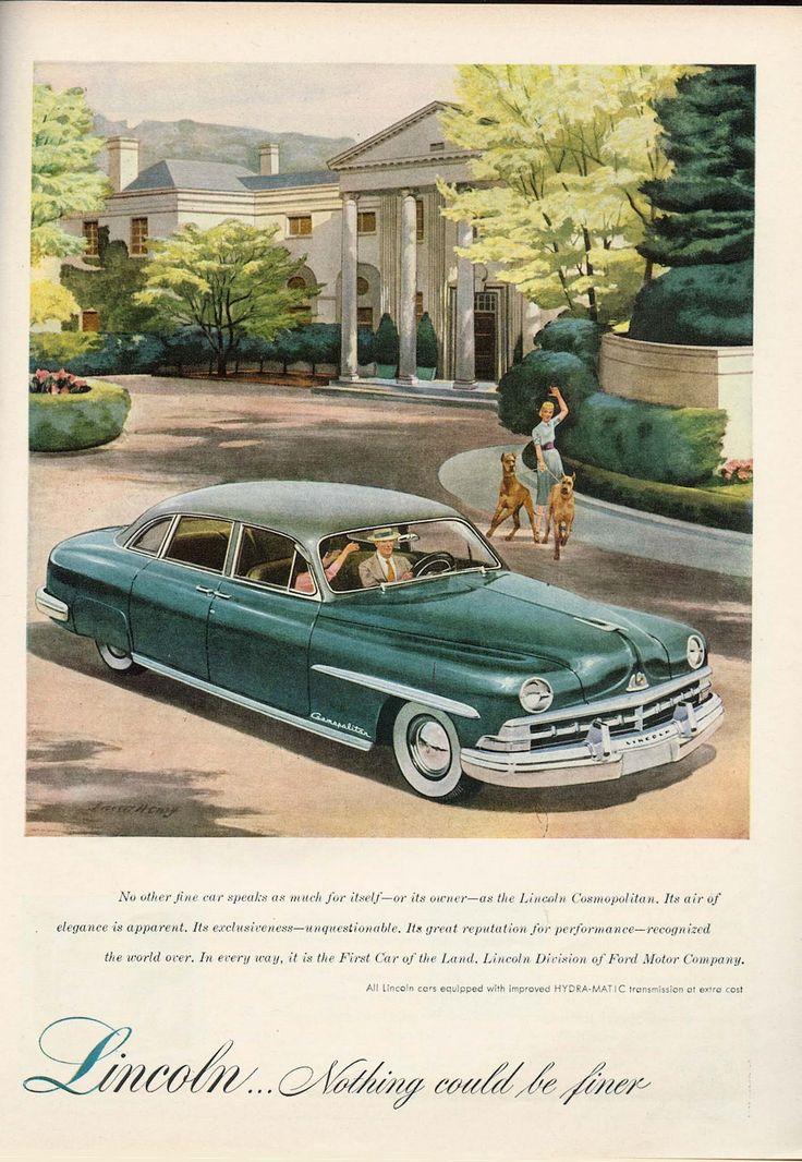 70 best vintage car ads images on Pinterest | Vintage ...