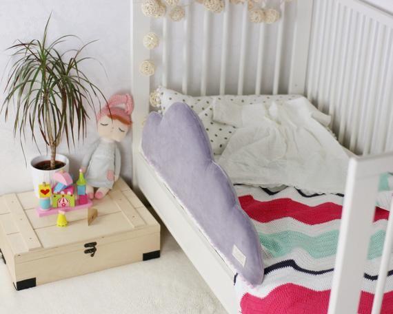 Toddler Bed Bumper Toddler Bed Barier Bed Rail Nursery Etsy