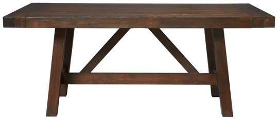 Art Van Dining Room Trestle Tables