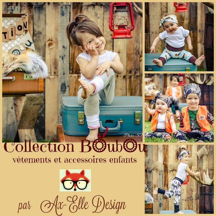 Voici la tout nouvelle collection Automne Ax-elle design.   Prenez le temp de visiter la boutique et d'admirer la collection boubou, elles seront vous charmer!